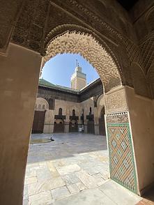 Madraza, Fez, Marruecos
