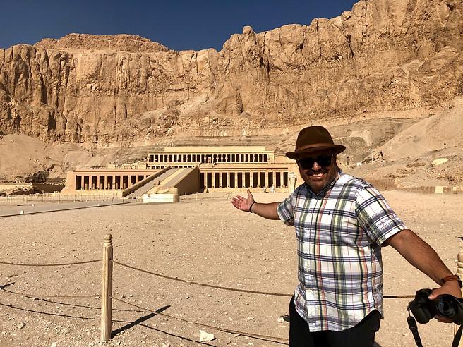 Templo Hatshepsut, Valle de los Reyes, Egipto