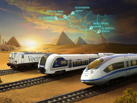 Egipto: Tren de alta velocidad desde el Mar Rojo hasta el Mediterráneo