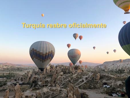 Turquía ha reabierto al turismo y está aceptando la visita de todas las naciones.