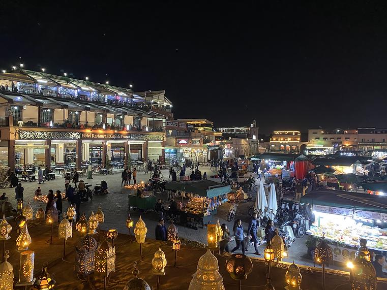 Jamaa el Fna, Marakech, Marruecos