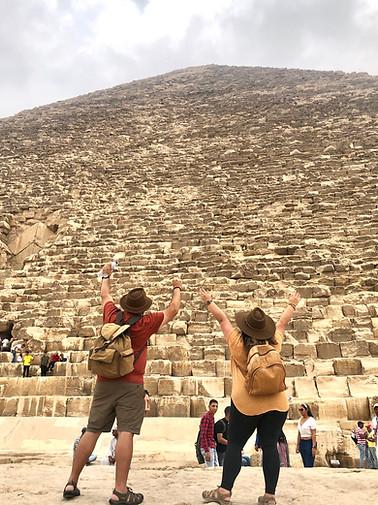 Piramides de Giza, Cairo, Egipto