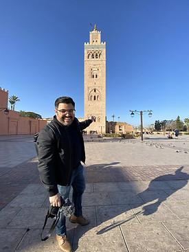 Torre Mezquita, Marrakech, Marruecos