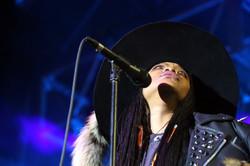 Erykah Badu performs in Atlanta