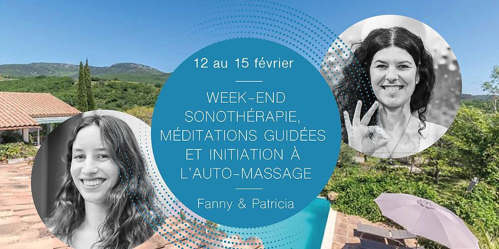 Week-end sonothérapie, méditations guidées et initiation à l'auto-massage · Avec Fanny et Patricia
