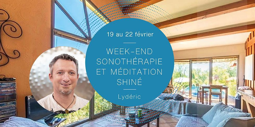 Retraite sonothérapie et méditation Shiné · Avec Lydéric & Hélène