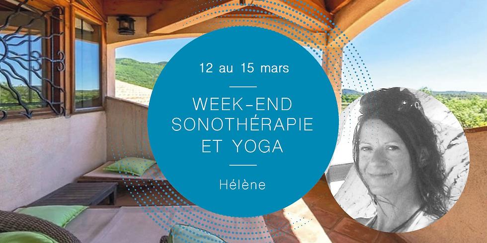 -20%! Sonotherapy and yoga weekendWith Hélène