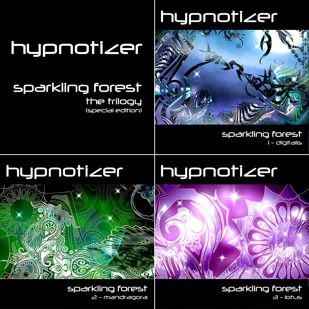 Sparkling Forest / 2-Mandragora, by ISAAK HYPNOTIZER