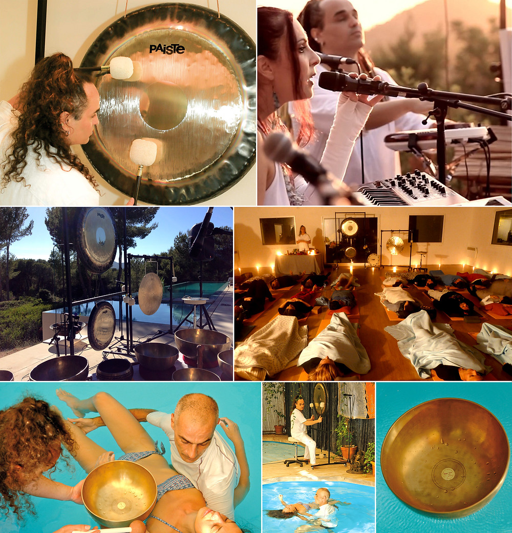 ELEA In Zen, live @ Equinox Gong Puja, Sept. 21 - 2015 at Can Skye Ibiza
