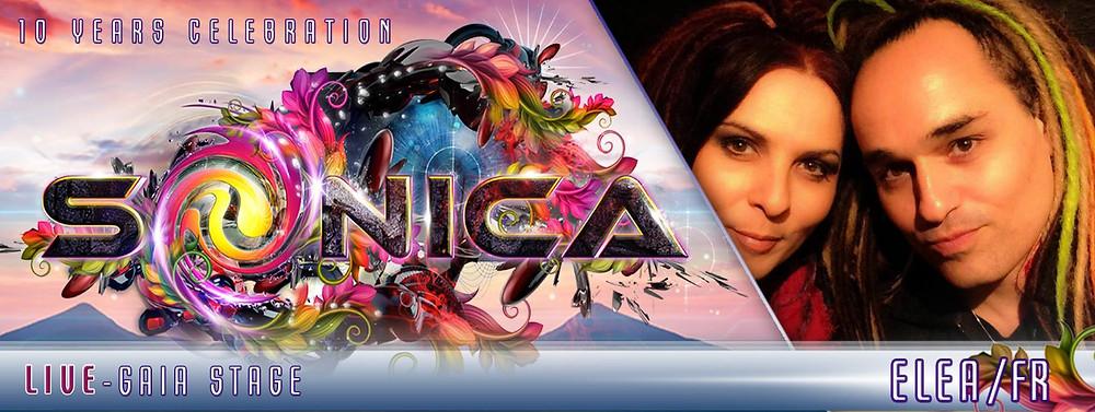 ELEA live @ SONICA DANCE FESTIVAL 2015, Aug. 15