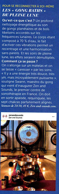 ZEN AND SOUNDS · GLAMOUR 2018 12