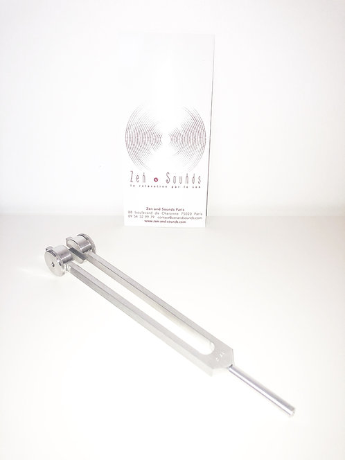64 Hz therapeutic tuning fork