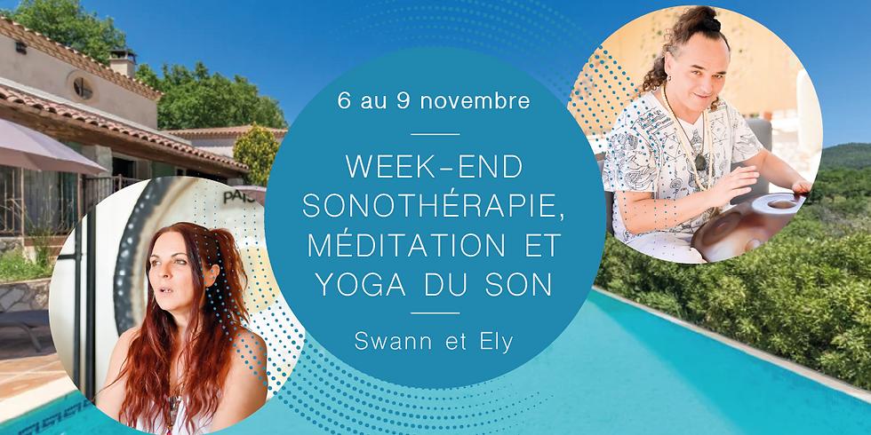 Week-end sonothérapie, méditation et yoga du son · Avec Swann & Ely