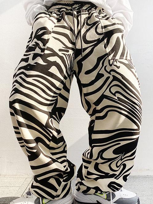 """Baggy Zebra Stylish Man"" 2XL, 3XL"