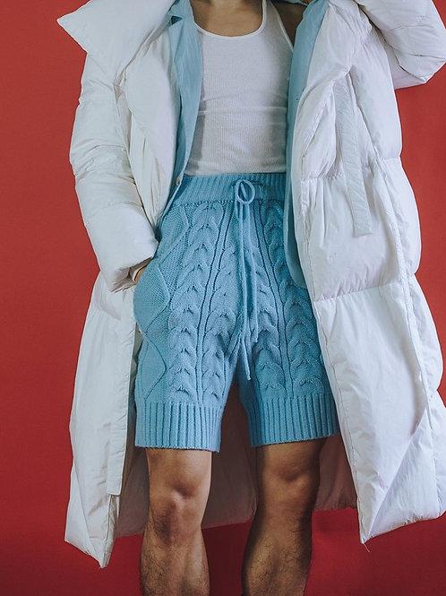 """Sheek Knitted Shorts for Men"" S, M, L, XL"