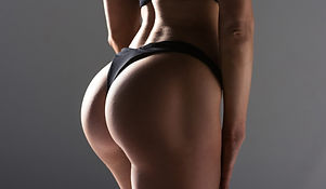 natural beautiful buttocks fitness female