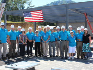Final Piece Of Steel Added To New Boone Memorial Hospital