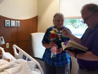 Hospital grants patient final wedding day wish