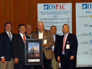 Boone Memorial Hospital wins 2018    Over the Top Hospital Award