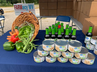 BMH partners with WV Extension Service to offer FARMacy – free, locally grown fruits and vegetables