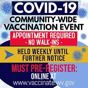 COVID-19 COMMUNITY VACCINATION EVENT-REV
