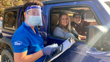 Boone Memorial Hospital tests nearly 350 in free drive-thru COVID-19 saliva based testing clinic