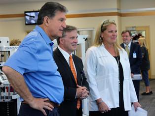 United States Senator Joe Manchin visits Boone Memorial Hospital