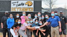 Boone Memorial Hospital donates $2,500 to help softball teams with flood damage