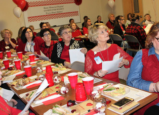 Heart Health Lunch & Learnheld at BMH Presenter, Casey S. Hager, MD, FACC