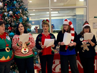 Boone Memorial Hospital gets in the Christmas spirit & helps community