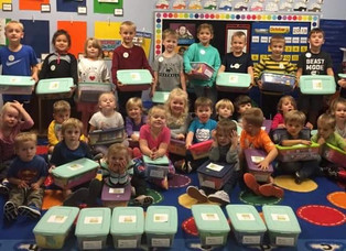 Jared Boxes donated to BMH to share with children patients
