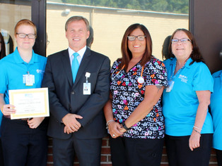 BMH Employees awarded for healthy lifestyle changes