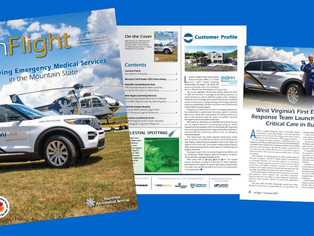Boone Memorial is Customer Profile in the latest issue of InFlight-The HealthNet Aeromedical Service
