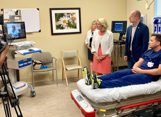 TeleStroke equipment at Boone Memorial to better serve stroke patients and save lives