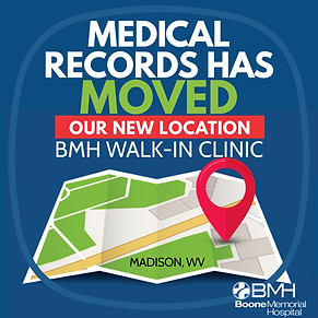 MEDICAL RECORDS HAS MOVED-INSTAGRAM FB.p