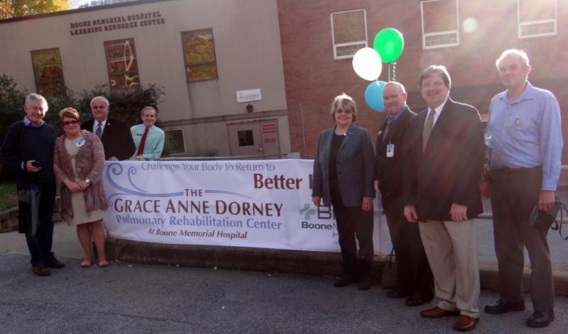 The Grace Anne Dorney Pulmonary Rehabilitation Center