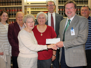 Boone County Community Foundation donates nearly 25K to the new Boone Memorial Hospital