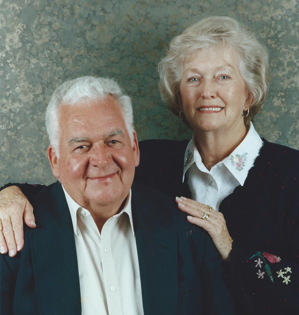 Bob's parents: Bob and Fay