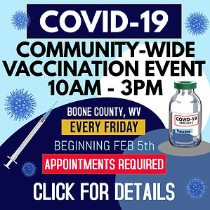 COVID-19 COMMUNITY VACCINATION EVENT-WEB