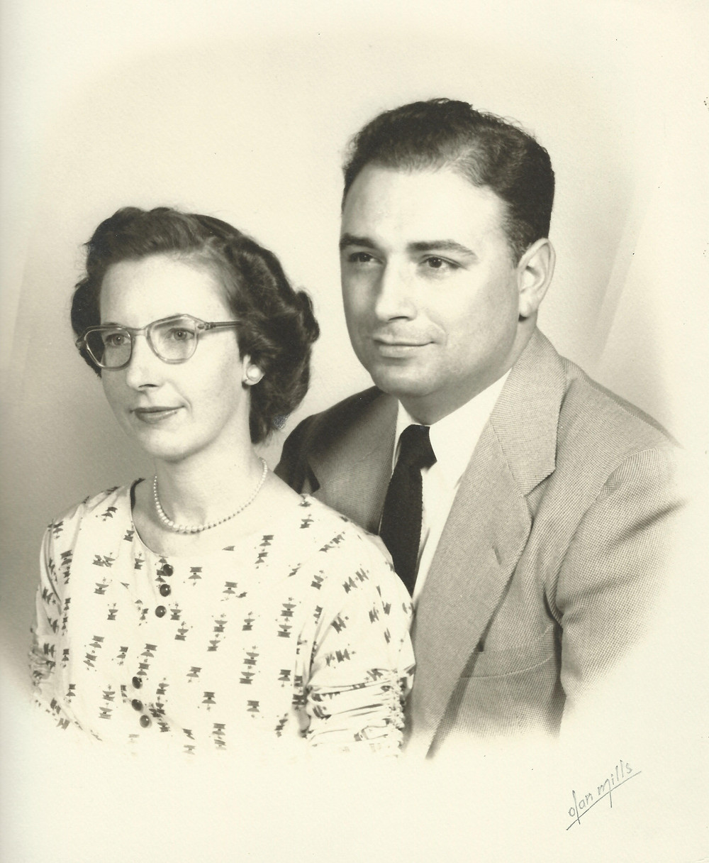 Barbara's parents: Jack and Louise White