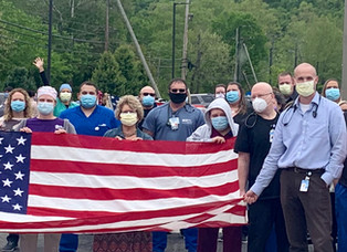 BMH Celebrates Hospital Week and Airlift Wing does flyover