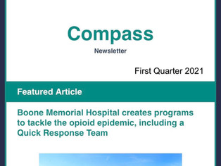 BMH Featured in CHART INSTITUTE Compass Newsletter - Opioid Epidemic/Quick Response Team