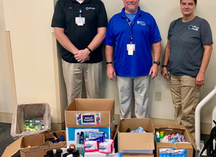Boone Memorial Hospital employees donate to Energy Express