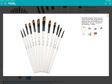 Inexpensive but not cheap brush