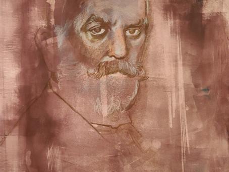 John Singer Sargent portrait that I lost...and got back