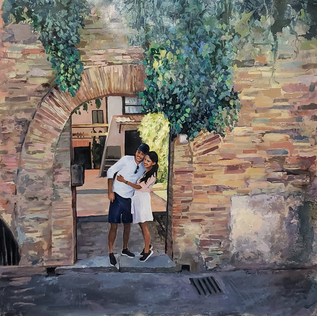 Engagement in Old Town