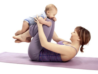 How does baby yoga help my baby's balance?