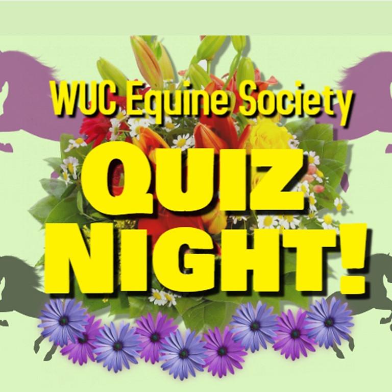 WUC Equine Society Quiz Night