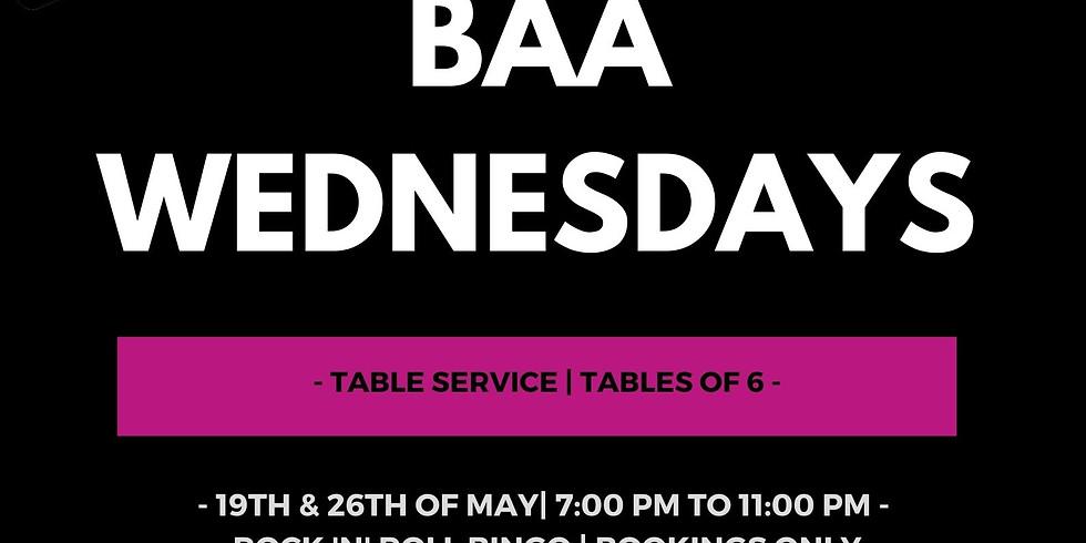Baa Wednesdays