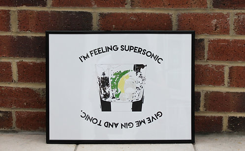 Oasis - Supersonic Print